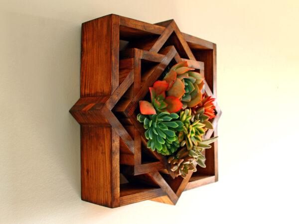 macetero madera madalera