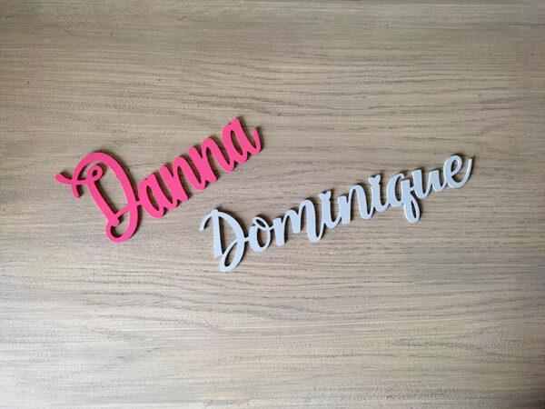 letras de madera personalizable